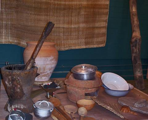 Vie quotidienne archeographe for Africaine cuisine