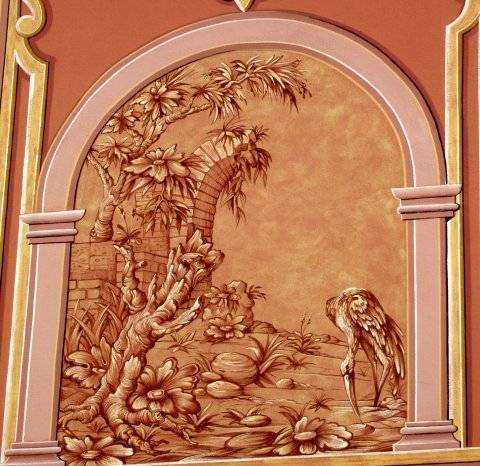 La cigogne archeographe for Restaurant jardin haguenau