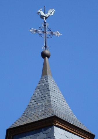 BEAUTÉS DE L'ÉGLISE CATHOLIQUE: SON CULTE, SES MOEURS ET SES USAGES; SUR LES FÊTES CHRÉTIENNES - Allemagne - 1857 Coq_Clocher_Harthouse_1