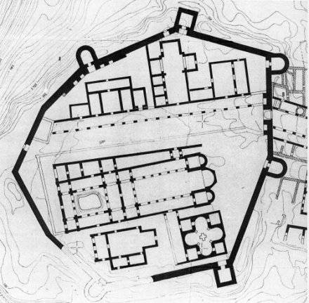 Fig.14 : Plan de l'Acropole.