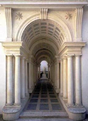 Les colonnes du Palazzo Spada