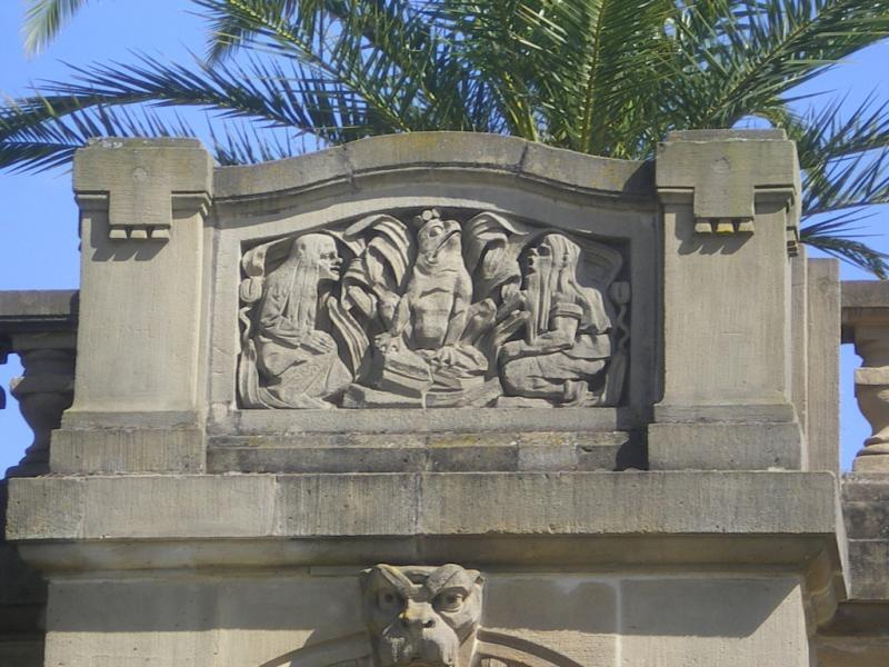 Grandes fontaines. Le roi des grenouilles. Photo Marc Heilig