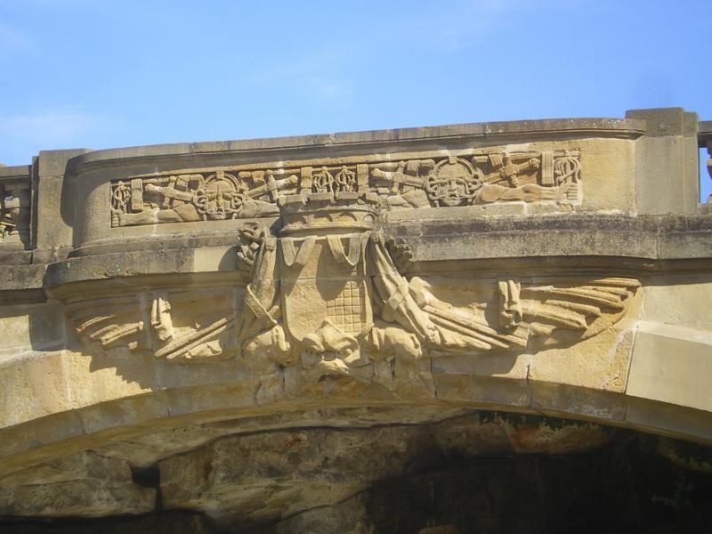 Grandes fontaines. La guerre et les armes de Metz. Photo Marc Heilig