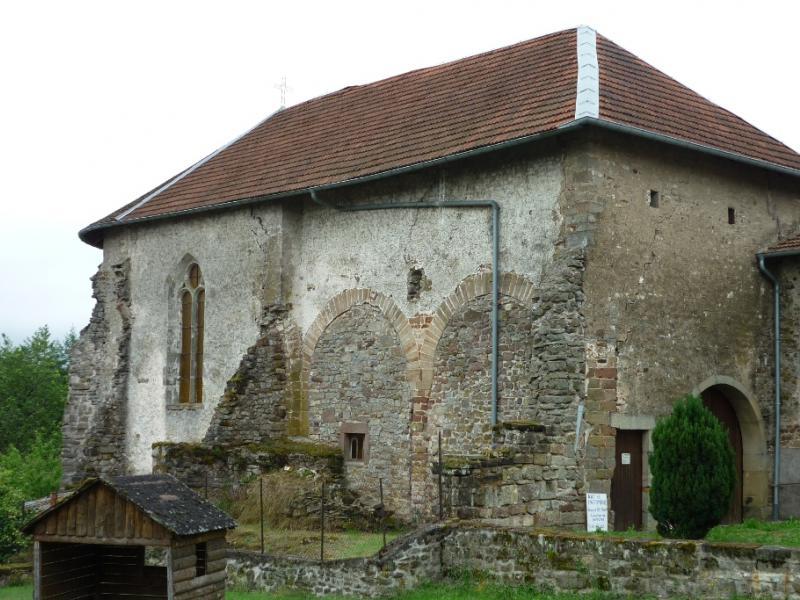 Bleurville.Côté nord du prieuré St-Maur. Photo Marc Heilig