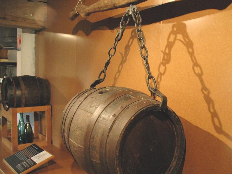 Foudre. Musée Européen de la Bière de Stenay. Photo Jean-Claude Heilig