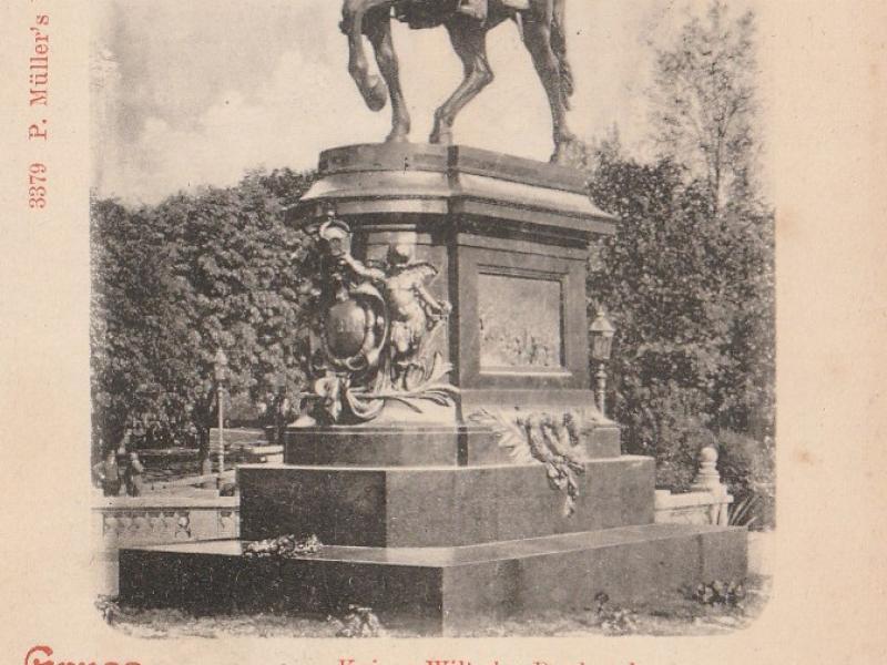 Kaiser Wilhelm Denkmal. Carte Postale du début XXe s.