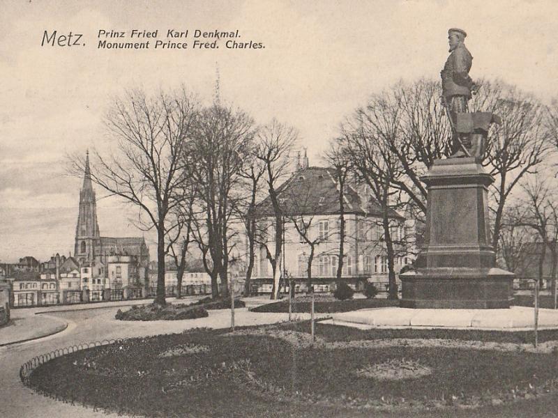 Prinz Friedrich Karl Denkmal. Carte postale du début XXe s.