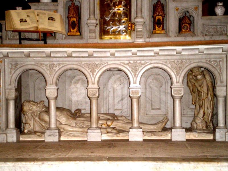Eglise abbatiale de Senones. Le Déposition. Photo Marc Heilig