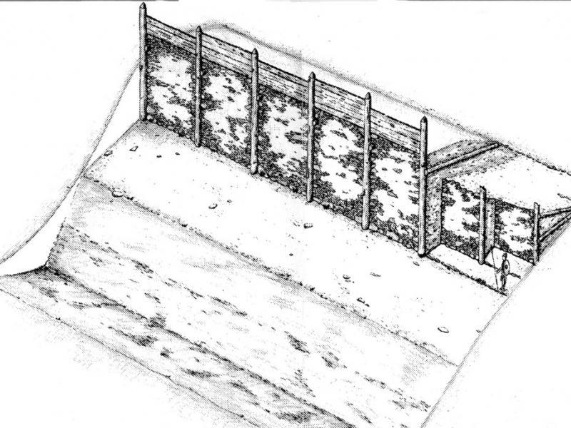 mur enceinte Hallstatt